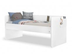 Jednolôžková posteľ 90x200cm Pure - biela