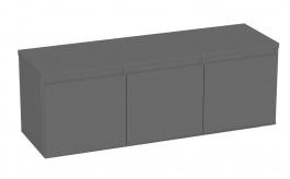 Komoda s 3 kontajnerovými zásuvkami REA Amy 12 - graphite