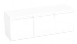 Komoda s 3 kontajnerovými zásuvkami REA Amy 12 - biela