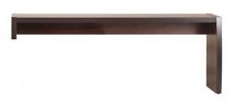 Nádstavec k rtv stolíku Forrest L/P - orech tmavý/dub milano