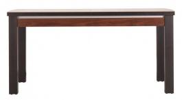 Jedálenský stôl s rozkladaním Forrest - orech tmavý / dub milano