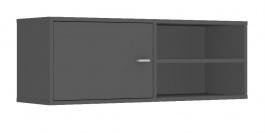 Horná skrinka s dvierkami REA Denisa Up 001 - graphite