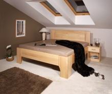 Masívna posteľ s úložným priestorom Olympia 2