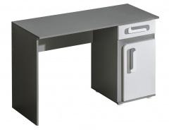 Pracovný stôl APETTITA 9 antracit / biela