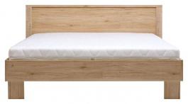 Manželská posteľ Nicol 160x200cm - dub Sanremo