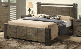 Manželská posteľ DITA 180x200cm - masív