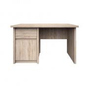 Pc stôl, DTD laminovaná, Dub sonoma, NORTY