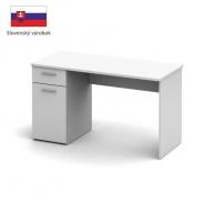 PC stôl, biela, EGON