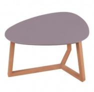 Konferenčný stolík Mimzy II - sivá/dub