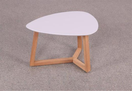 Konferenčný stolík Mimzy III - svetlo sivá / dub