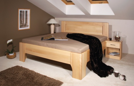 Masívna posteľ s úložným priestorom Olympia 2-80