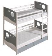 Detská posteľ Kewin poschodová