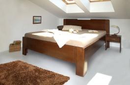 Masívna posteľ s úložným priestorom K-design 3 80