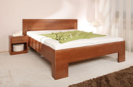 Masívna posteľ s úložným priestorom Varezza 7 - 120/140 x 200cm - výber odtieňov
