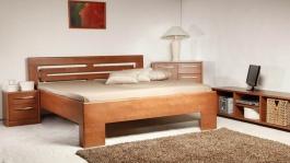Masívna posteľ s úložným priestorom Varezza 2 - 120/140 x 200cm - výber odtienov