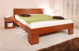 Masívna posteľ s úložným priestorom Varezza 6B (v.50) - 120/140 x 200cm - výber odtienov