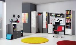 Detská izba Tom I - grafit/enigma