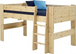 Detská vyvýšená posteľ Dany 90x200 cm (výška 113cm) - masív
