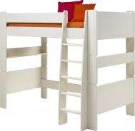 Detská vyvýšená posteľ Dany 90x200 cm (výška 164cm) - biela