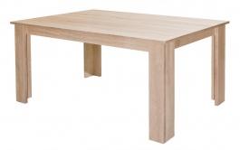 Rozkladací jedálenský stôl TIMON dub sonoma