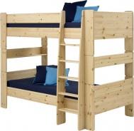 Detská poschodová posteľ Dany 90x200 cm - masív