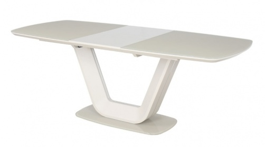Jedálenský stôl ARMANI rozkladací krém