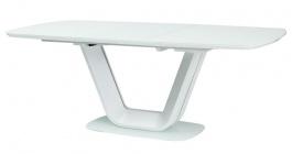 Jedálenský stôl ARMANI rozkladací biely