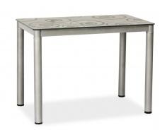 Jedálenský stôl DAMAR 80x60 sivý