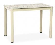Jedálenský stôl DAMAR 80x60 krémový