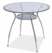 Jedálenský stôl FINEZJA A strieborná