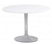 Jedálenský stôl FLAVIO 90 biela