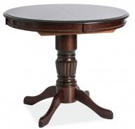 Jedálenský stôl MARGO rozkladací, tmavý orech