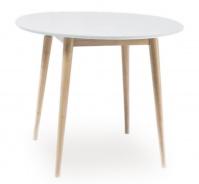 Jedálenský stôl okrúhly LARSON 90x90 cm