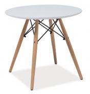 Jedálenský stôl okrúhly SOHO 80