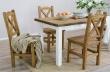 Drevený jedálenský stôl 80x120 MES 02