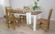 Drevený jedálenský stôl 80x120cm MES 02 - výber morenie