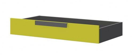 Zásuvka pod posteľ WOW W-15 zelená