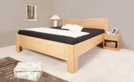 Masívna posteľ s úložným priestorom K-design 1-120