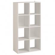 Regál Cubi 8 - biela