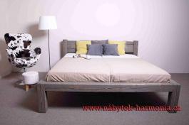Manželská posteľ Fabio 180x200cm - výber odtieňov