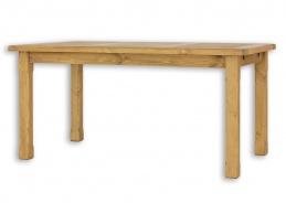Sedliacky stôl 90x180cm MES 02 A s hladkou doskou - výber morenia