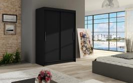 Šatní skříň MIAMI I černá