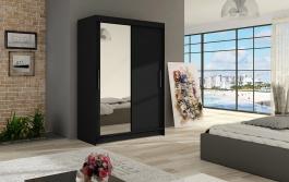 Šatní skříň MIAMI VI černá