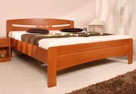Masívna posteľ s úložným priestorom Evita 6