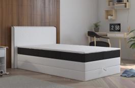 Posteľ s matracom a ÚP STANFORD 140x200cm (PUR - M120 / I100)