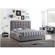 Manželská posteľ, šedá, 180x200, EVENT