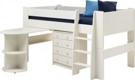 Multifunkční postel Dany - bílá