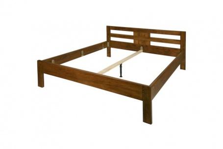 Manželská posteľ LIBRA - masív buk