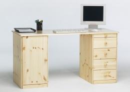 Písací stôl Kent 1D5S - masív