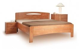 Masívna posteľ s úložným priestorom Evita 3-120